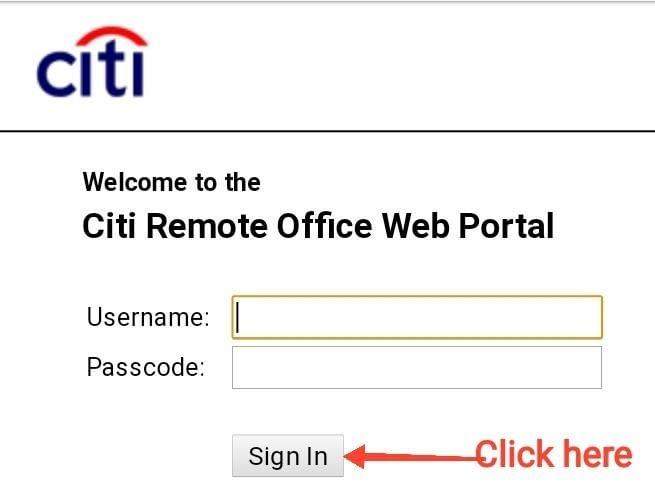 Citi Remote Office