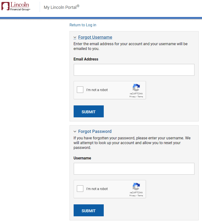 Reset My Lincoln Login Password And User ID