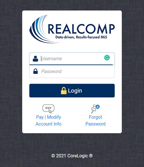 realcomponline login